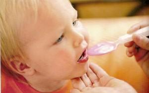 Лечение ребенка ложка с