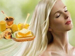 Волосы и мед