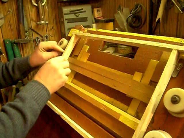 Пчелиные рамки своими руками